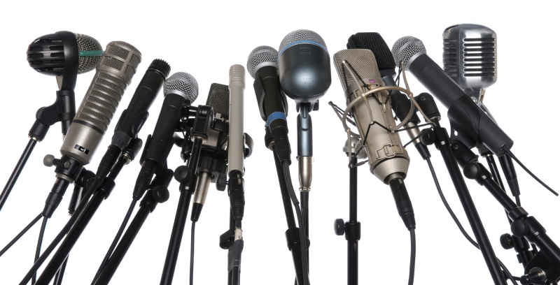 microphone selection