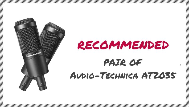 Pair of Audio Technica At2035