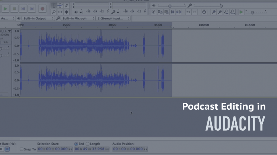 how to edit podcasts in audacity