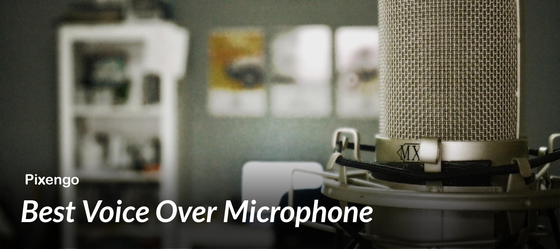 bestvoiceovermicrophone