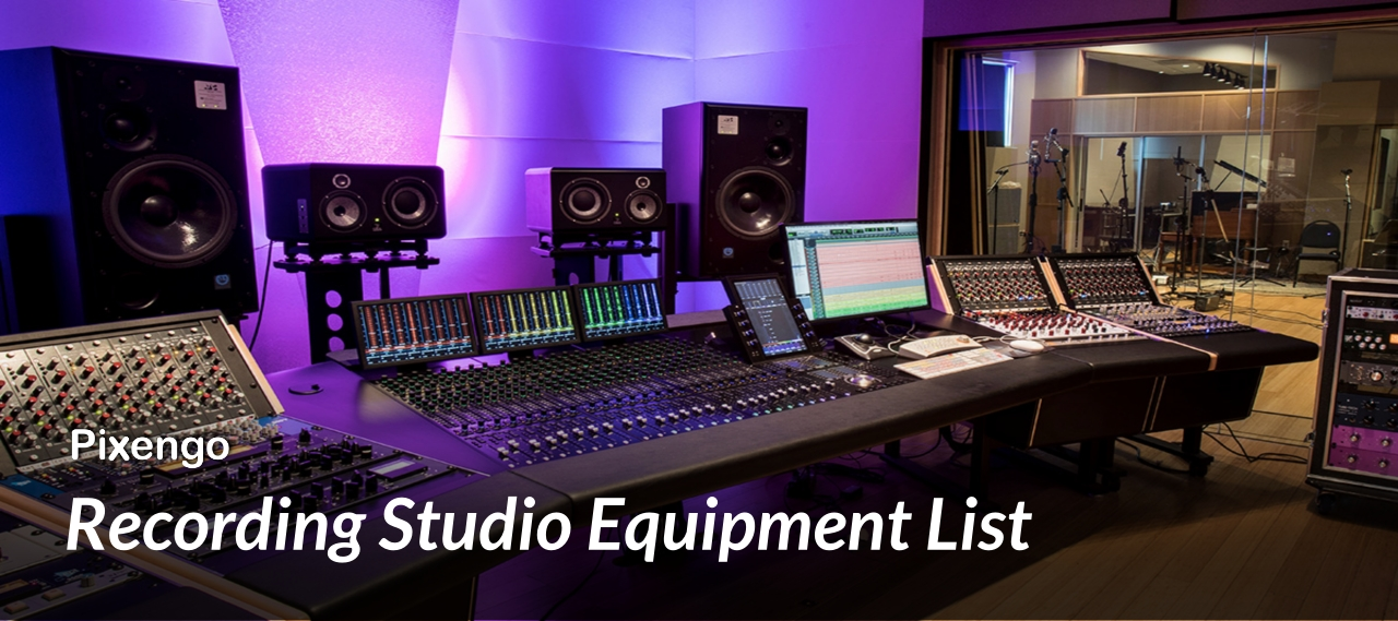 recording studio equipment list