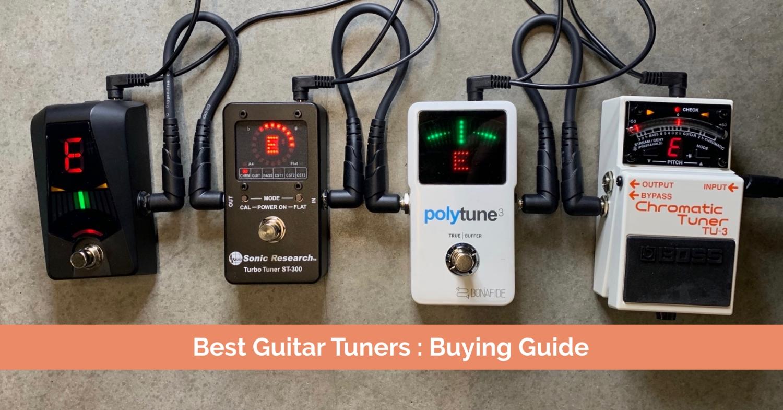 guitar tuner buying guide