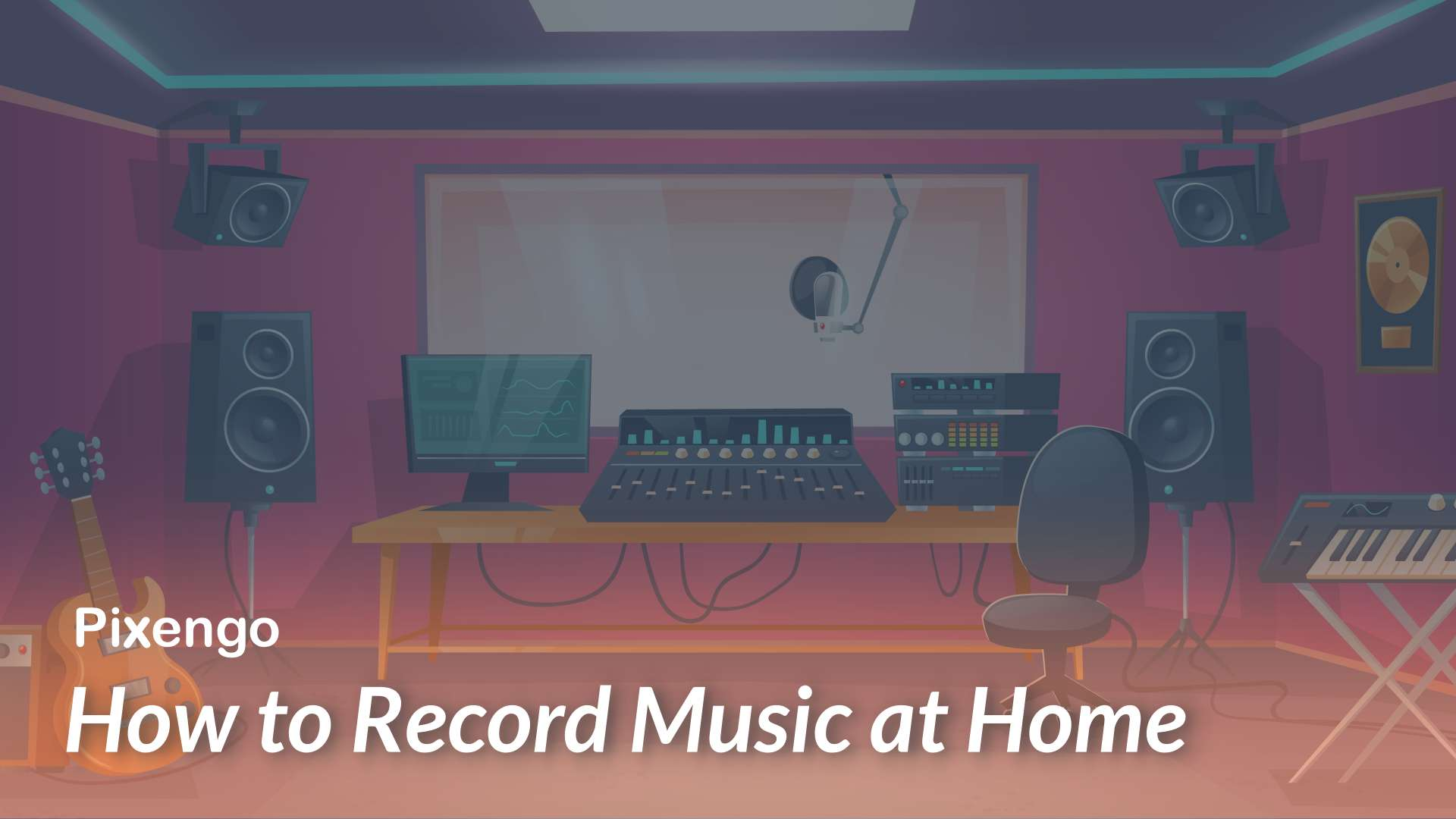 how to record music at home
